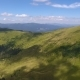 Aerial of Good-looking Carpathian Uplands with Shapeless Cloud Shadows in Summer - VideoHive Item for Sale