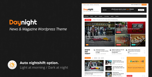 Daynight - Magazine Theme