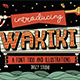 WAKIKI LAYERED TYPEFACE - GraphicRiver Item for Sale
