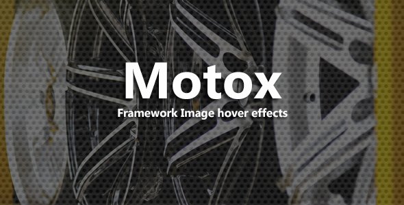 Motox - CSS3 Image Hover Effects