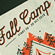 Fall Camp Flyer - GraphicRiver Item for Sale