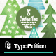 Watercolor Christmas Trees - GraphicRiver Item for Sale