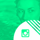 Neon Instagram Template - GraphicRiver Item for Sale