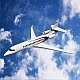 Dassault Falcon 8x lowpoly private jet - 3DOcean Item for Sale