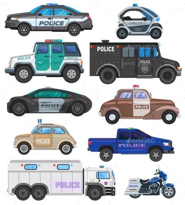 Police Car Vectors