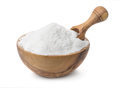Wood bowl full of cooking salt with scoop - PhotoDune Item for Sale
