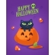 Black Cat in a Halloween Pumpkin - GraphicRiver Item for Sale
