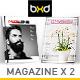 Magazine Template Bundle - InDesign Layout V8 - GraphicRiver Item for Sale