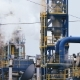 Modern Refinery Complex with Towers and Smoke Against Sky - VideoHive Item for Sale