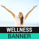 Healthy Lifestyle Banner - GraphicRiver Item for Sale