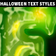 10 Halloween Text Styles - GraphicRiver Item for Sale