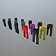 Pants Loose Fit Pack - 3DOcean Item for Sale