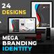 Elegant Mega Branding Identity - GraphicRiver Item for Sale