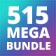 515 Infographics Bundle - GraphicRiver Item for Sale