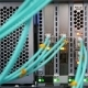 Camera Shows Cables Plugged Into Powerful Mining Server at Farm - VideoHive Item for Sale