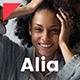 Alia - Minimal Personal Blog - ThemeForest Item for Sale
