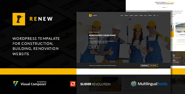Renew - Renovation WordPress Theme