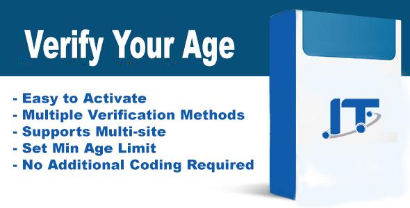 iAge Verifier -  Woocommerce