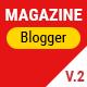 Mogtemplates - MogMagazine Template For Blogger V.2.2 - ThemeForest Item for Sale