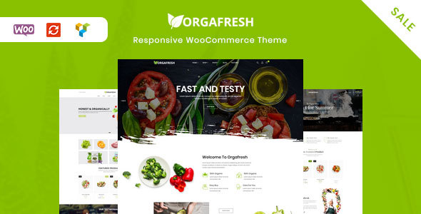 Orgafresh | Organic & Food WooCommerce WordPress Theme