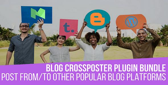 Blog CrossPoster WordPress Bundle by CodeRevolution