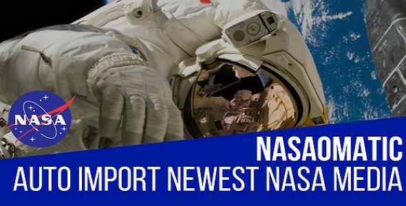 Nasaomatic - Nasa Automatic Post Generator Plugin for WordPress