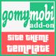 gomymobiBSB's Site Theme: Outline - App Showcase - CodeCanyon Item for Sale