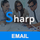 Sharp - Responsive Email Template - ThemeForest Item for Sale