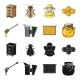 Apiary Set - GraphicRiver Item for Sale