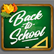 Vector Chalkboard | Back to School - GraphicRiver Item for Sale