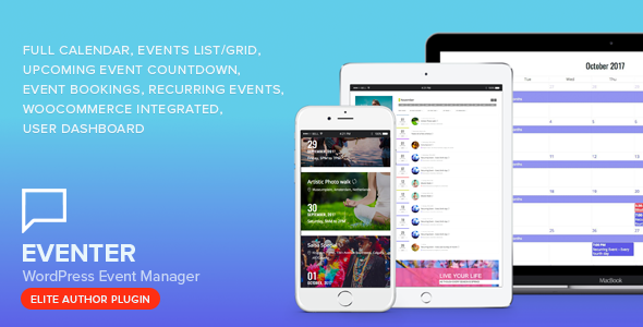 Eventer - WordPress Event & Booking Manager Plugin