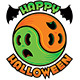 Happy Halloween Ghost Yin-Yang - GraphicRiver Item for Sale