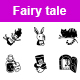 Fairy Tale Vector Icons - GraphicRiver Item for Sale