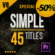 Gold Simple Titles (Special Edition) for Premiere - VideoHive Item for Sale