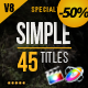 Gold Simple Titles (Special Version) for FCPX - VideoHive Item for Sale