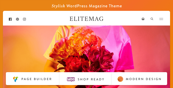 Elitemag - Stylish WordPress Blog and Magazine Theme