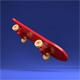 Cartoon Style Skateboard - 3DOcean Item for Sale