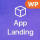 vApp | WordPress App Landing Page - ThemeForest Item for Sale