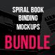 Spiral Book Binding Bundle Mockups - GraphicRiver Item for Sale