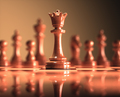 Queen Chess Game Board - PhotoDune Item for Sale