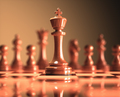 King Chess Game Board - PhotoDune Item for Sale