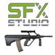 Weapon - M249 light machine gun Single Shot