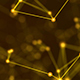 Abstract Gold Digital Internet Social Network Background - VideoHive Item for Sale