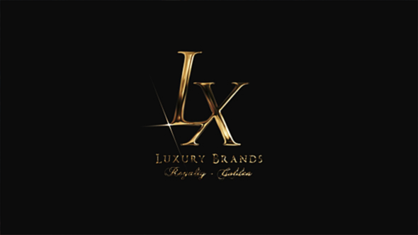Golden Luxury Logo Reveal
