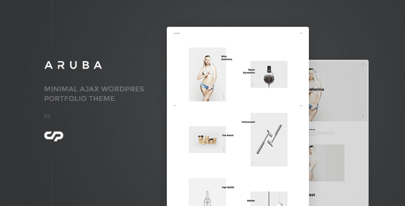 Aruba – Minimal Ajax WordPress Portfolio Theme Free Download