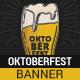 Sketchy Oktoberfest Web Banner - GraphicRiver Item for Sale