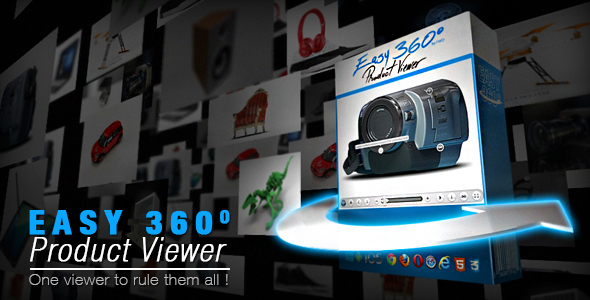 Easy 360° Product Viewer