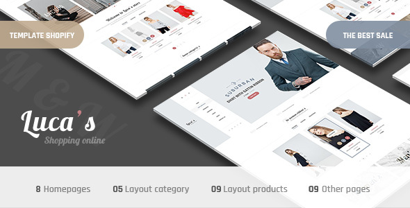 Fastest Luca's - Minimal Responsive Shopify Theme