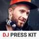 PromoDJ - DJ Press Kit / DJ Resume / DJ Rider PSD Template - GraphicRiver Item for Sale
