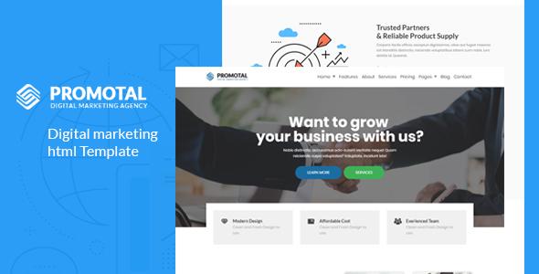 Margen -Seo & Digital Marketing Template
